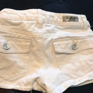 Girl's Justice shorts 8R